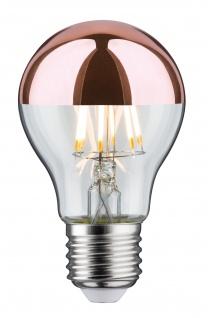 Paulmann 284.56 LED Glühlampe 7, 5W E27 230V Kopfspiegel Kupfer 2700K