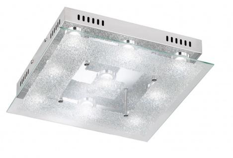 Action 956209010000 Deckenlampe Brooks Deckenleuchte 9 x 5 W LED 3.000 K 3.780 Lumen Chrom