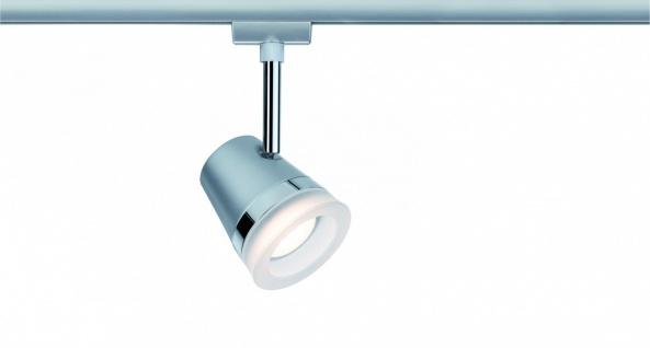 URail System LED Spot Cone 1x6, 5W GU10 Chrom matt/Chrom 230V Metall
