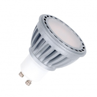 LED Leuchtmittel 8W GU10 3000K Warmweiss 230V 600lm Satin