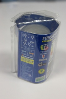 Megaman Energiesparlampe Sparlampe Softlight E27 7W flach 2700K - MM04012i - Vorschau 2