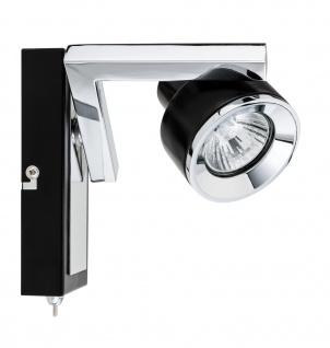 Paulmann 602.33 Spotlight Turn Balken 1x40W GU10 Schwarz Chrom 230V Metall