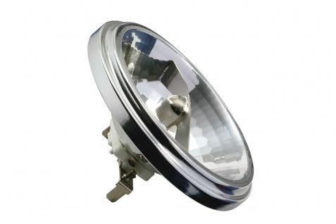 Paulmann QR 111 Halogenlampe 24° 50W G53 12V 111mm Silber