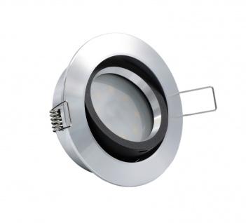LED Einbauleuchte 96528 Alu 5W 3000K 230V Modul flache Einbautiefe 35mm - Vorschau 2