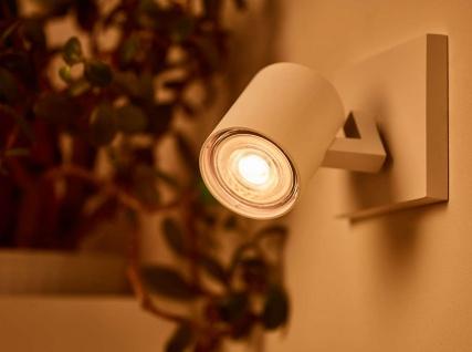 Philips 8718696582558 Reflektor mit Stecksockel dimmbar 5, 5 W (50 W), GU10, WarmGlow, Spot - Vorschau 3