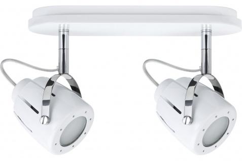 Paulmann 600.35 Spotlights Mega Balken max. 2x50W GU10 Weiß 230V Metall