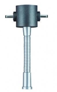 Paulmann Function ModuLED Geo Spot Converter Chrom matt/Anthrazit 12V Metall