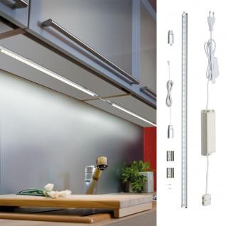 2 Schubladen LED-Lichtleisten 15,6cm Vibrationsschalter Batteriebetrieb Möbel