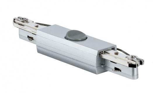 URail Rail-Switch max. 500W Chrom matt 230V Kunststoff