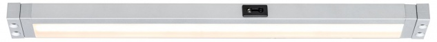 Paulmann Function SenseLight Schubladenleuchte PIR Sensor Bewegungsmelder 5W LED Alu matt 230V/12V Alu Kunststoff