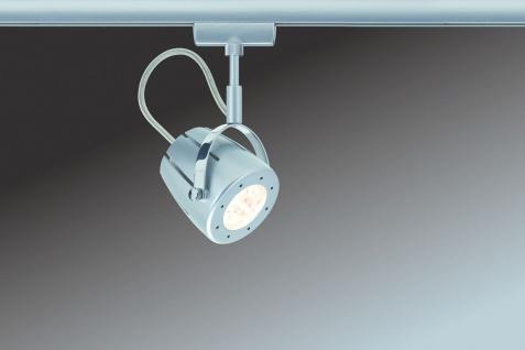 Paulmann 951.21 URail Schienensystem Light&Easy Spot Mega 1x3W GU10 Chrom matt 230V Metall