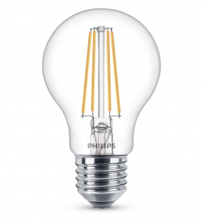 Philips 8718696742419 E27 LED Classic Leuchtmittel 6W 806lm Filament Warmweiß