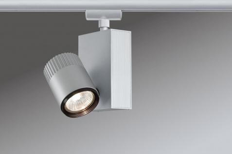 Paulmann 950.89 URail Schienensystem Light&Easy Spot Tecno 1x50W GU5, 3 Chrom matt 230V/12V Metall - Vorschau 2