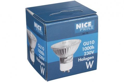Nice Price 50W GU10 230V 51mm Alu