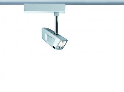 URail System LED Spot Scene 1x10W Chrom matt/Chrom 230V Metall