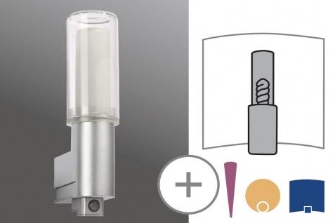 Paulmann WallCeiling DS Modern Basis WL IR-Sensor IP44 11W E27 Chrom matt 230V Kunststoff/Glas - Vorschau 2