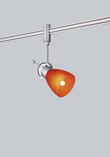 Paulmann Schienensystem Light&Easy Phantom Spot Phara 1x40W G9 Titan/Or/Gelb 230V Metall/Kunststoff/Glas
