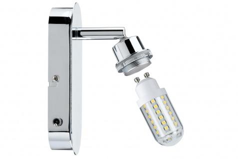 Paulmann 603.06 Spotlights DecoSystems LED Balken 1x3W GZ10 230V Chrom Metall