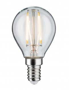 Paulmann 285.01 LED Tropfen 4, 5W E14 230V Klar 2700K dimmbar