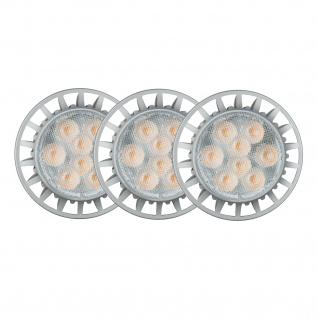 3er Pack Paulmann 926.81.3.LED 2700K Premium Einbauleuchte Daz rund schwenkbar 8W LED 230V GU10 Weiß m./Schw. dimmbar - Vorschau 4