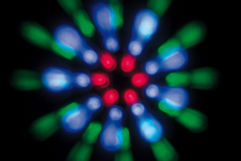 TIP Party LED Double Beam 15W 230V Schwarz - Vorschau 5