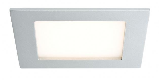 Paulmann Premium Einbauleuchte Set Areal eckig LED 3x2W 230V 90x90mm Chrom matt/Alu