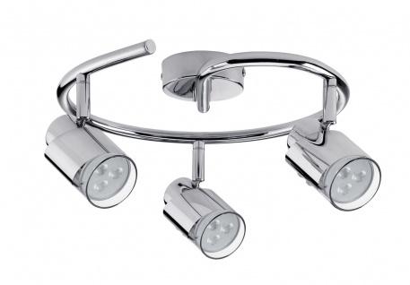 Paulmann Spotlight Futura LED Twister 3x3, 5W GU10 Chrom 230V Metall - Vorschau 2