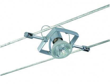 Paulmann Wire System Light&Easy Spot Mac II 1x35W GU5, 3 Chrom matt 12V Metall - Vorschau 2
