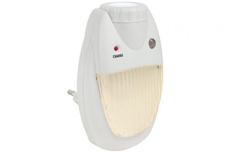 TIP Smart LED Steckerleuchte und Taschenlampe max.0, 7W Weiß 230V Kunststoff