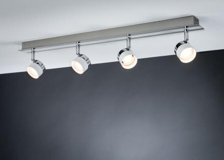 Paulmann 602.46 Spotlight Stage Balken 4x3W Weiß Chrom 230V Metall