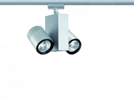 Paulmann 950.90 URail Schienensystem Light&Easy Spot Tecno 2x28W GU5, 3 Chrom matt 230V/12V Metall - Vorschau 2