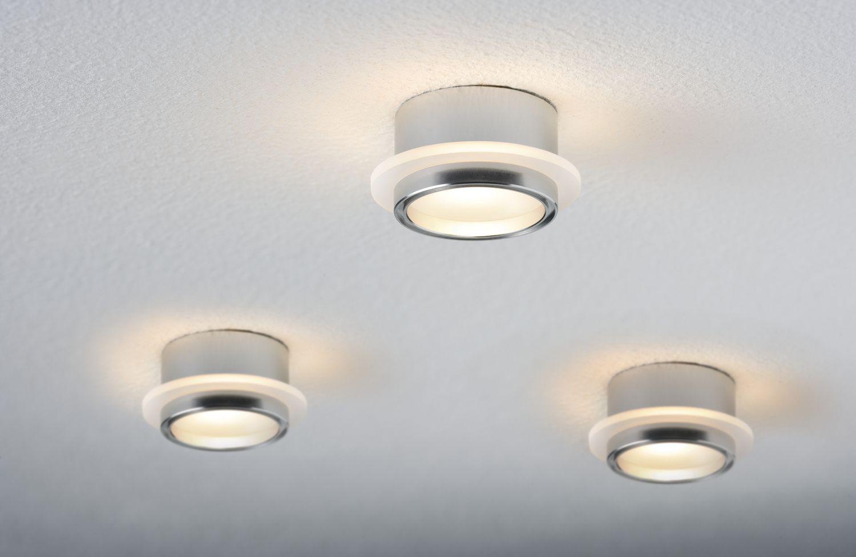 Paulmann 925.44 3er Set LED Star Line Warmweiß Sternenhimmel 3x1W Einbaustrahler