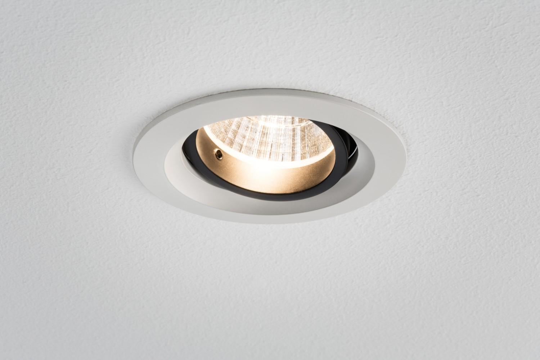 926.76 Paulmann Einbauleuchten Premium EBL Set Daz schwenkb. LED ...