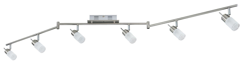 Paulmann 601.19 Spotlights QuadLed Stange 2x3W Alu gebürstet 230V//12V Metall//Gla