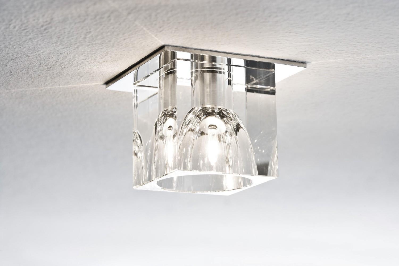LED Kristall Einbauleuchten 6er Set inkl. LED G4 Leuchtmittel ...