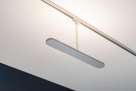 Paulmann URail Schienensystem LED Spot Blade 14, 4W Chrom matt/Chrom 230V dimmbar Metall/Kunststoff