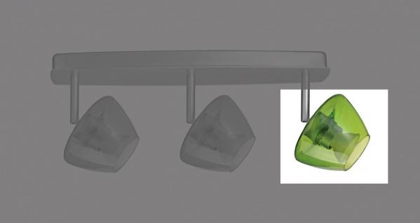 Ersatzglas für Paulmann Deco Systems Zambaioni grün transp.