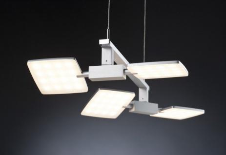 Paulmann Living Pendelleuchte Pad 4x5W LED Alu gebürstet/Chrom 230V
