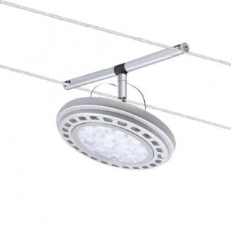 94021.LED Wire System Spot Wasabi LED 1x12W AR111 Chrom matt