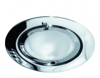 Paulmann Möbel Einbauleuchte Set Klipp Klapp 3x20W 70VA 230/12V G4 72mm Chrom/Stahlblech/Glas - Vorschau