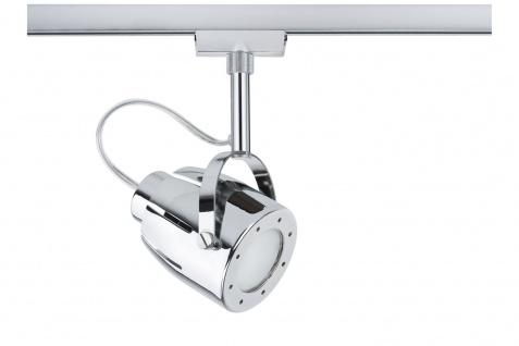 Paulmann 950.35 URail Schienensystem Light&Easy Spot Mega max. 1x50W GU10 Chrom 230V Metall