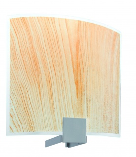 701.11 Paulmann Lampenschirme WallCeiling DS Modern Deco-Set WL Cove Wood 220x200mm Metall/Glas