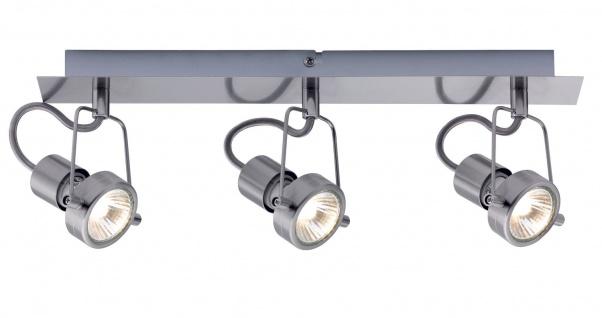Paulmann 665.17 Spotlight Balken Techno II 3x40W GU10 Eisen gebürstet 230V Metall