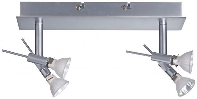 Paulmann 664.66 Spotlights Ginger Balken 2x(2x20W) GU4 Chrom matt 230/12V 105VA Metall