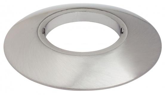 Paulmann 987.81 Special Aufbauring rund UpDownlight LED 80mm Eisen gebürstet/Alu Zink