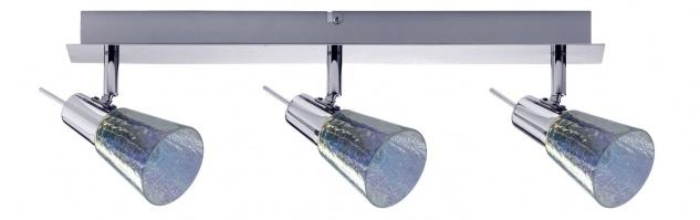 Paulmann Spotlight Omikron Balken 3x42W G9 230V Chrom Metall/Glas