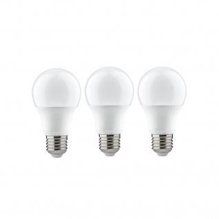 Paulmann LED 3er-Pack Glühlampe 6, 5W E27 230V 2700K
