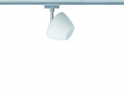 Paulmann URail Schienensystem Light&Easy Spot Zambaioni 1x40W GZ10 Chrom matt/Satin 230V Metall/Glas