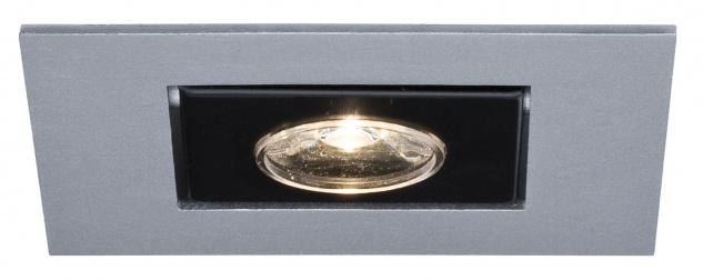Paulmann Premium Einbauleuchte Cardano LED 1x(1x1W) 350mA Chrom matt/Alu