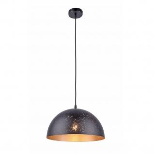 Leuchten Direkt 15180-18 HANNAH Pendelleuchte, schwarz 1xE27 60W Innenleuchte, IP20